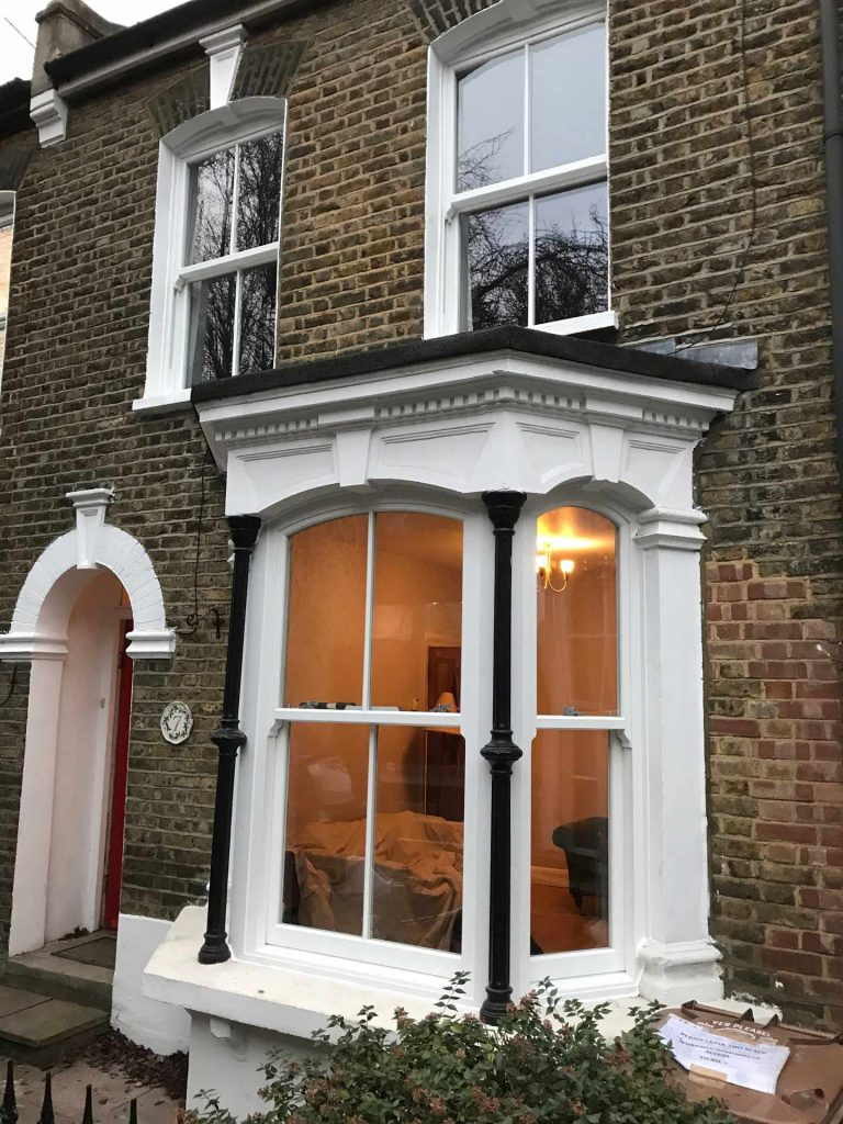 Heritage Sliding Sash Window Installation Aldershot