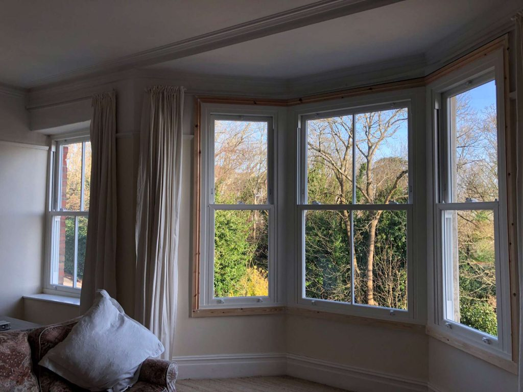 Heritage Sliding Sash Window Installation Surrey